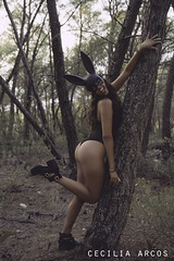 Playboy (nikonistaempedernida) Tags: playboy conejita rabbit bunny girl woman women coneja conejo bosque wood madera forest chica mujer nikkor nikon nikond7100 nikonista nikkor2470mm nikkor50mm nikonistaempedernida ibiza sa talaia satalaia monte montaa