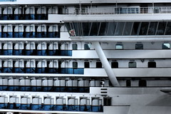 Cruise Ship 'Celebrity Eclipse'. (ManOfYorkshire) Tags: celebrity eclipse cruise cruises berthed line cruising southampton decks floors balcony balconies bridge solstice class ship holiday