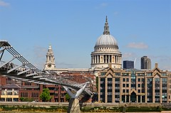 London View (pjpink) Tags: stpauls cathedral anglican church architecture wren london england britain uk may 2016 spring pjpink