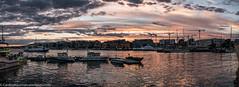 P1040974-Pano (Cardinal Guzman) Tags: 2016 akerbrygge oslo august solnedgang sunset