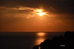 Same procedere as every evening (heikecita) Tags: sonnenuntergang cilento pisciotta sky himmel outdoor landscape landschaft meer ocean kste wolke ufer sun sunset cloud nikon d7200 kampanien italien