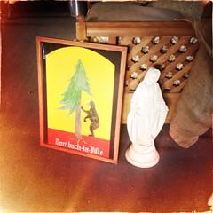 Bear & Mary (plasticfootball) Tags: lewisplace stlouis missouri stann visitation church dambachlaville bear virginmary