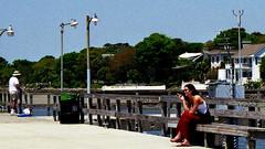 st. simons island ga. (bluebird87) Tags: women girl smoking film st simons island ga nikon n80