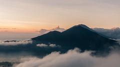 Mount Batur sunrise & batur lake (johan masia) Tags: indonsie indonesie indonesia color colore colour couleur d90 apsc aps voyage trek paysage paesaggio landscape natura world leverdesoleil leverdusoleil sunrise batur bali alba