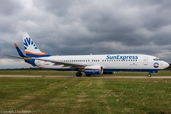 SunExpress Germany D-ASXI (U. Heinze) Tags: aircraft airlines airways haj hannoverlangenhagenairporthaj eddv planespotting nikon d610 nikon28300mm