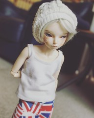 Lazy Mornings with Blake. (pokori) Tags: minifee mnf rheia boy fairyland bjd msd ns blake active line normal body