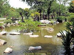 Gardens in 2009 in The Ancient City in 2009, Muang Boran, Samut Prakan, Thailand. (samurai2565) Tags: samutprakan samutprakanprovince thailand ancientsiam ancientcity muangboran sukhumvitroad bangkok lekviriyaphant bangpu
