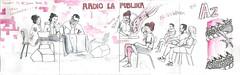 Alejandra_dibujatolrato_Radio Magazine LA PUBLIKA
