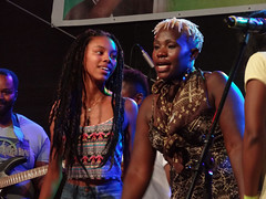 Black Music (Nicote) Tags: tbingen is traditional university town central badenwrttemberg germany it situated 30 km outh state capital stuttgart ridge between neckar ammer rivers as 2014 about one three people living studenttourists tuebingen street black music africa festival stage song singing women
