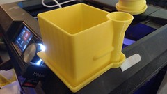 Side Watering Planter (jheaneyphotos) Tags: 3d printing pla fdm flowerpot planter