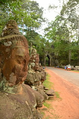 The Line-Up (Neil Noland) Tags: cambodia siemreap angkor angkorthom gate ruin