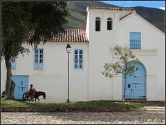 Claustro de San Agustn (jota_estrada) Tags: convento claustro sanagustin villadeleyva boyaca colombia 2010 architecture arquitecturacolonial