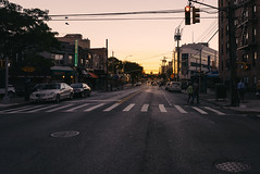 Love the sound of first light (RomanK Photography) Tags: brooklyn newyorkcity streetphotography streettogs intersections sheepsheadbay sonyalpha sunrise morning