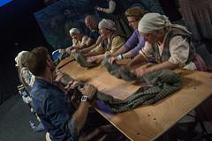Wool Waulking (StephenieEloise) Tags: scotcon edinburgh outlander wool waulking steven cree graham mctavish