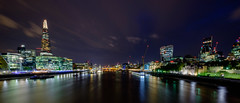 The Thames in London at Night (Andrew Stawarz) Tags: fujinonxf1024mmf4rois fujifilm london longexposure night thames xt1 hmsbelfast motoryachta superyacht philippestark