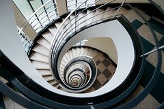 A case of stairs (Panda1339) Tags: berlin spiralstaircase architecture germany nikon 14mm df light