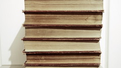 old books for an old heart (mollywhitelock) Tags: books reading spines pages