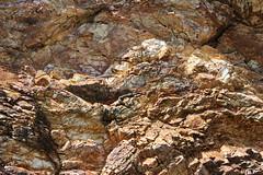 Rock Face, Calliope River (Kathy Helen Pike) Tags: rocks rockface embankment rockwall