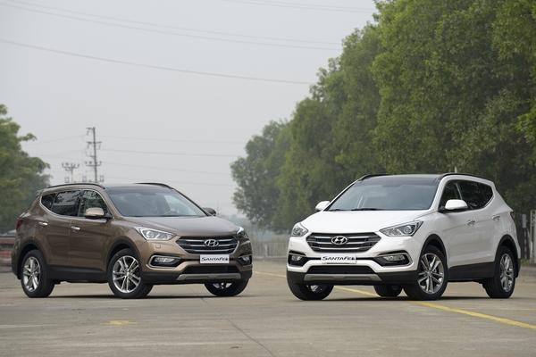 Mua xe Hyundai SantaFe, Tucson và Elantra 2016 trong tháng 9 sẽ nhận ngay ưu đãi 30 triệu đồng Ngày đăng : 10:15:30 12-09-2016