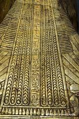 Golden kilt (konde) Tags: statue tutankhamun 18thdynasty newkingdom gold kv62 thebes valleyofthekings treasure wood ka kastatue cairo museum ancient hieroglyphs cartouche