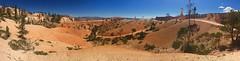 Rolling hills (alideniese) Tags: brycecanyonnationalpark utah usa panoramic landscape desert sand sanddunes dunes trees colour sky bluesky hot dry
