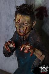Look out (SlayervilleProd) Tags: zombie makeup halloween baldwinasylum slayerville slayervilleproductions undead hauntedhouse baldwinasylum2016videoshoot