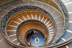 Double spiral staircase - Spirlov schodit (Michal Hajek) Tags: d5500 nikkor czphoto 18140mm rome vatican platinumheartaward