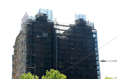 scaffolding, scaffold, superior scaffold, 215 743-2200, philadelphia, pa, de, md, nj, new jersesy, shoring, renovation, masonry, construction, divine lorraine, 019 (Superior Scaffold) Tags: scaffolding scaffold rental rent rents 2157432200 scaffoldingrentals construction ladders equipmentrental swings swingstaging stages suspended shoring mastclimber workplatforms hoist hoists subcontractor gc scaffoldingphiladelphia scaffoldpa phila overheadprotection canopy sidewalk shed buildingmaterials nj de md ny renting leasing inspection generalcontractor masonry superiorscaffold electrical hvac usa national safety contractor best top top10 electric trashchute debris chutes divinelorraine netting