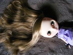 Stella's hair...