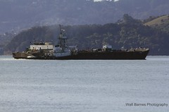 Tugboat Point Fermin with tank barge_002 (Walt Barnes) Tags: canon eos ship vessel richmond calif tugboat barge sanpablobay pointfermin 60d millerknox canon60d canoneos60d wdbones99