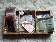 Mini books box (LaWendeltreppe) Tags: art minibooks