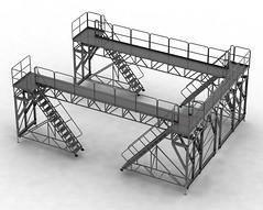 Nacelle access platform