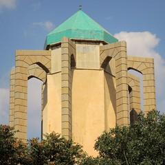 Mausoleum for the Islamic poet (Germn Vogel) Tags: tower monument asia poetry iran middleeast mausoleum hamedan mystic islamicrepublic westasia babatahir gettyimagesmiddleeast