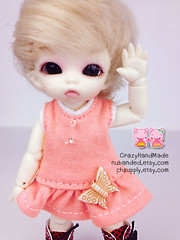 Pukipuki Outfits (nubanded) Tags: doll dress pants felix small tshirt tiny brownie bjd cloth litle pukipuki