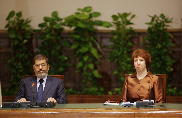 President Morsi & High Representative Catherine Ashton