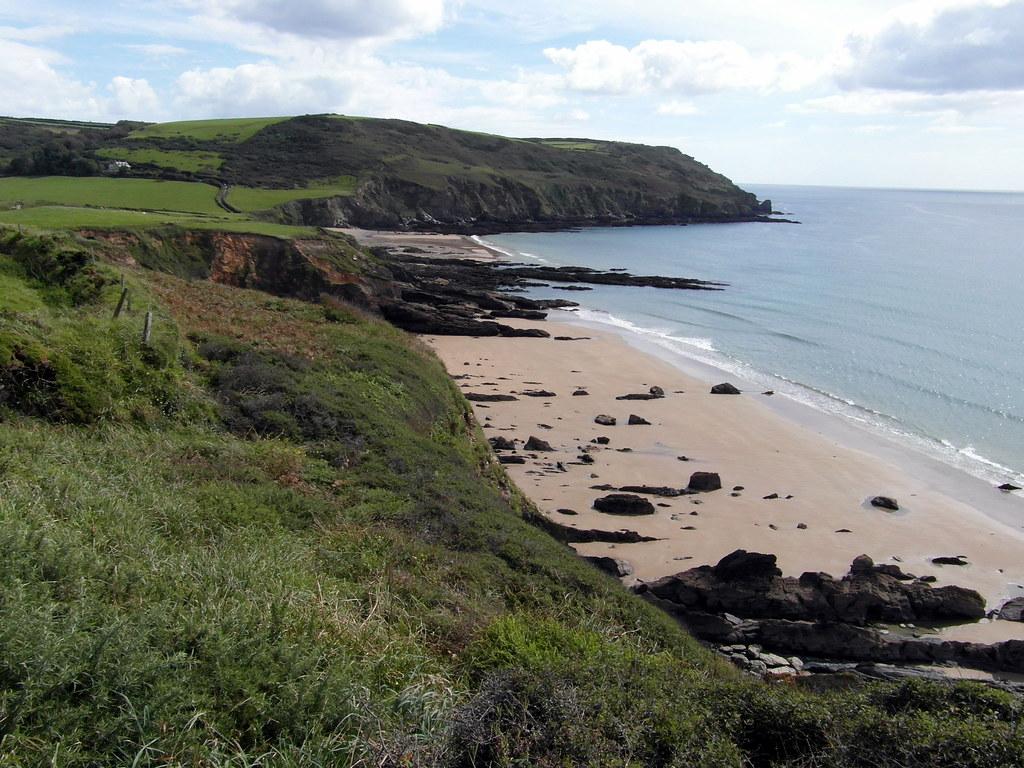 Hemmick Beach and Dodman Point