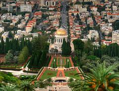Haifa - The View on the Bahá'í Gardens (NatashaP) Tags: israel haifa d800 bahaigardens baháíworldcentre nikkor2470mm nikond800
