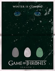 Game of Thrones Minimalist Poster - Season 1 (rycz) Tags: green art poster design graphicdesign eyes vectorart grunge egg digitalart fanart greens eggs illustrator minimalism stark vectors distressed vector minimalist daenerys adobeillustrator distressing posterdesign gameofthrones vexel thebiggestgroup dragonegg targaryen dragoneggs daenerystargaryen housestark housetargaryen minimalistposter