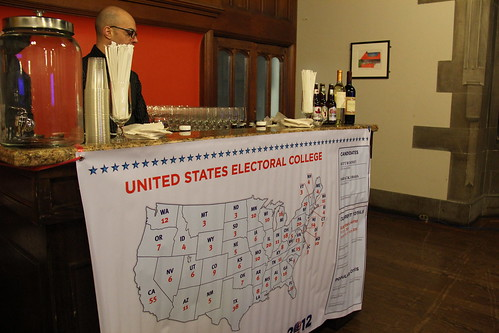 Map of the United States Electoral College