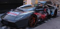 Lamborghini Murcielago Tekken Edition (RoamingTheClouds) Tags: racing sema tekken lambo prestige savini bodywrap