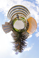 Masaryk University (gadl) Tags: panorama university czech gimp brno projection muni planet handheld 360 stereographic hugin plante enblend masaryk mathmap stereogra