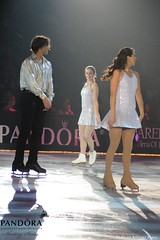 Peter Tchernyshev, Ashley Wagner and Naomi Lang