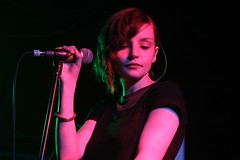 Chvrches @ Electrowerkz (abi.d) Tags: music live gig band singer electrowerkz laurenmayberry chvrches