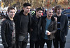 Nathan Sykes, Siva Kaneswaran, Tom Parker, Max George and Jay McGuiness of The Wanted 86th Annual Macy's Thanksgiving Day Parade New York City, USA