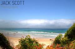 Sea mist Narrawallee Beach (jack.scott) Tags: ocean november sea mist hot cold beach water weather landscape outdoors day sunny australia front system 25 nsw newsouthwales southcoast 24105mm canon7d