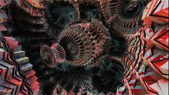 emitter with clover (Ronald Fitch) Tags: fractal 3dfractals mandelbulb mandelbulb3d