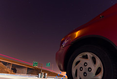 Stars del Soul (andrewpabon) Tags: longexposure night honda stars twilight highway louisville delsol 65 lightstreaks dicken delsoul