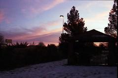 Alien Sunset (c_kreature) Tags: winter sunset snow newmexico southwest film 35mm desert roswell roadtrip negative american scanned nm leicam6 c41 filmsnotdead elmarm50mm filmwins benjaminsoto believeinfilm buyfilmnotmegapixels konicacenturia400s
