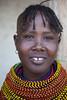 20121003_1094 (Zalacain) Tags: africa portrait woman black face kenya traditional tribe turkana laketurkana loyangalani