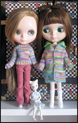 Lady Mary Tavy and Evette Minuette